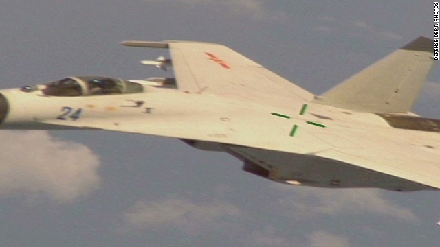 Chinese jet intercepts U.S. aircraft