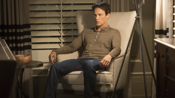 """When """"True Blood"""" met its true death in its series finale last August, it dragged one of its main characters down with it. In a surprising twist, the writers actually killed off Stephen Moyer's Bill Compton. The toughest part to stomach? They had his one love, Sookie (Anna Paquin), do the staking."""