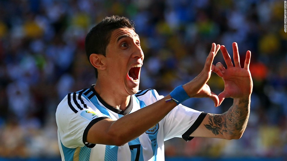 Di Maria was an integral part of the Argentina side which reached the World Cup final. The winger scored the only goal of the game in the 1-0 second round victory over Switzerland.