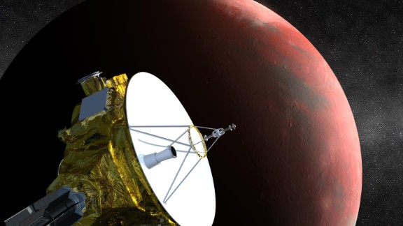 NASA's New Horizons spacecraft, the first probe sent to Pluto, is scheduled to arrive in July.