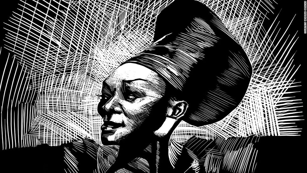 "Another singer represented in this collection of stamps is Brenda Fassie, the outspoken and larger-than-life singer best known for her Afro-pop tunes.<br /><br />""I am a massive music fan and it was an honor to represent these people,"" Gericke says fondly. <br /><br /> ""To have these people acknowledged is very comforting. That they are going back and saying [these are] people who made a difference. You had all these township musicians who culturally weren't regarded by the powers that be. But music doesn't care. Music will be made regardless and it's so good that they are acknowledged after all this time."""
