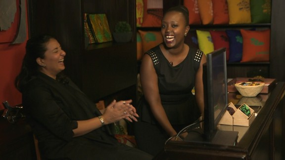 """Founders Olga Mugyenyi and Nahida Beghani  came up with their business idea in 2009. """"We felt like there weren"""