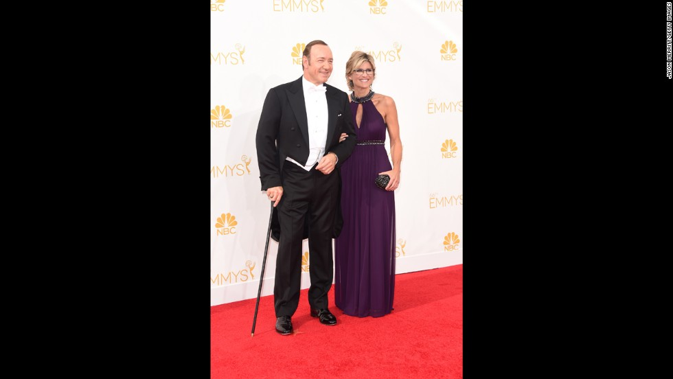 "Kevin Spacey and Ashleigh Banfield (""House of Cards"")"