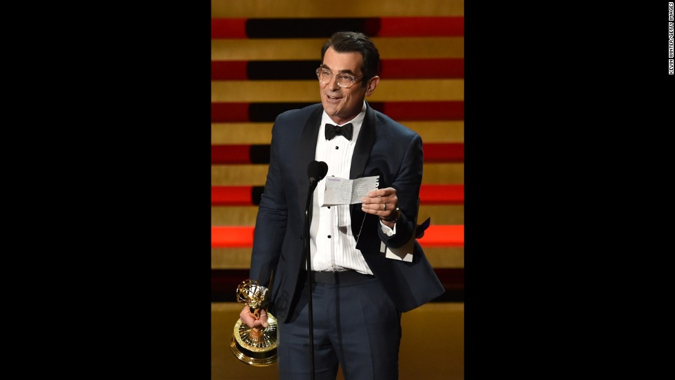 "Outstanding Supporting Actor in a Comedy Series: Ty Burrell, ""Modern Family"""