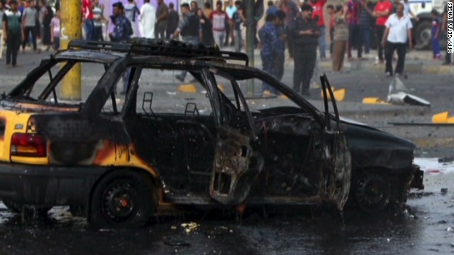 Car bomb detonates in Baghdad rush hour