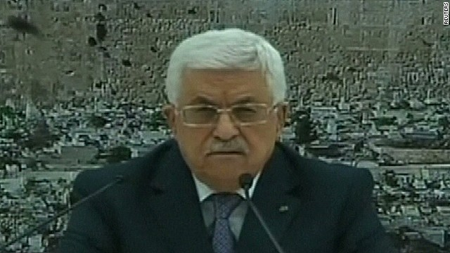 Palestinian president announces ceasefire
