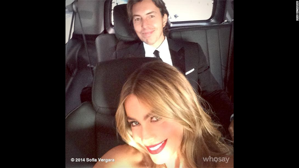 "Sofia Vergara <a href=""http://instagram.com/p/sI6YF6rpWC/?utm_source=partner&utm_medium=embed&utm_campaign=photo&modal=true"" target=""_blank"">posted this selfie to her Instagram</a> account on Monday, August 25. The ""Modern Family"" cast <a href=""http://www.cnn.com/2014/08/25/showbiz/gallery/2014-emmy-winners/index.html"">took home its fifth Emmy</a> for outstanding comedy series."