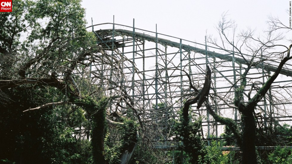 In July, Hays visited Joyland Amusement Park after moving home to Wichita, Kansas. He was sad to discover that the park was essentially abandoned.