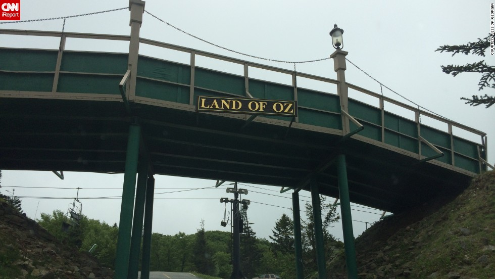 "<a href=""http://ireport.cnn.com/docs/DOC-1146899"">Jessica Georgia</a> and her family visited Land of Oz in late May. The former theme park sits on top of Beech Mountain, North Carolina."