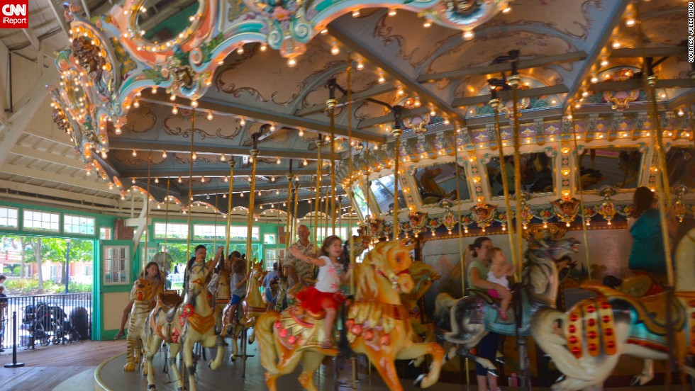 "Glen Echo Park in Maryland no longer functions as an amusement park. After the <a href=""http://www.nps.gov/glec/index.htm"" target=""_blank"">U.S. National Park Service</a> assumed ownership in 1968, it converted the theme park into an arts park."