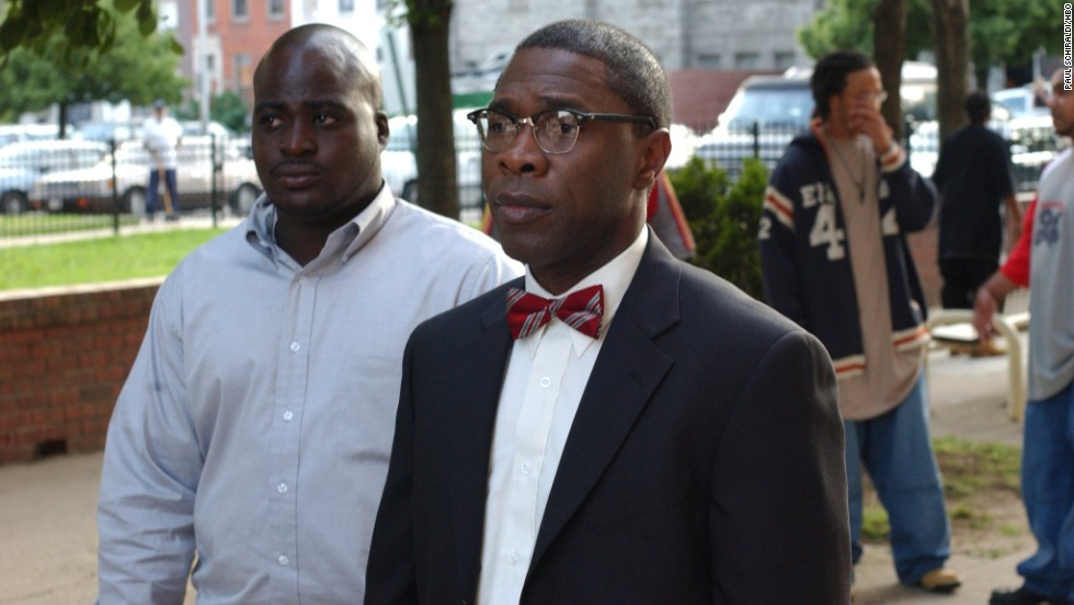 "Actor Michael Potts played the well-dressed and well-read killer Brother Mouzone in HBO's ""The Wire."""