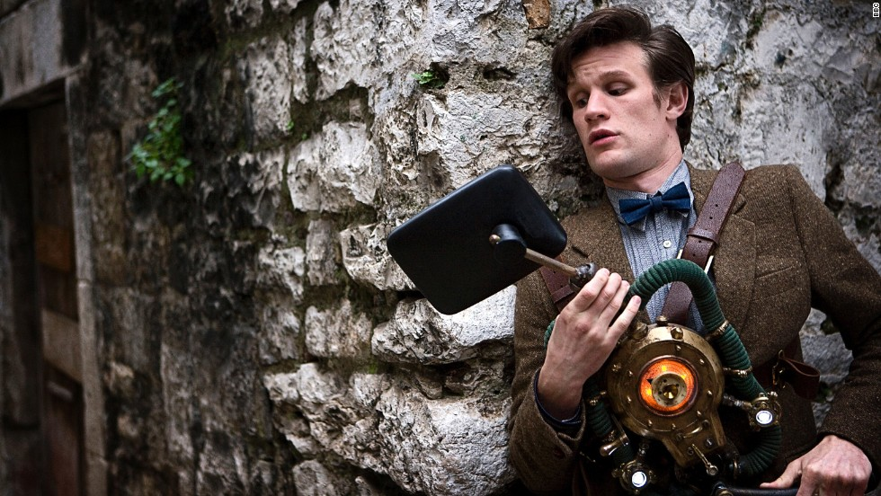 "The ""Eleventh Doctor"" in the ""Doctor Who"" franchise, played by Matt Smith, is sometimes referred to as the ""Raggedy Man"" because of his bedraggled appearance after a rough bout of time travel, but he looks quite dapper here."