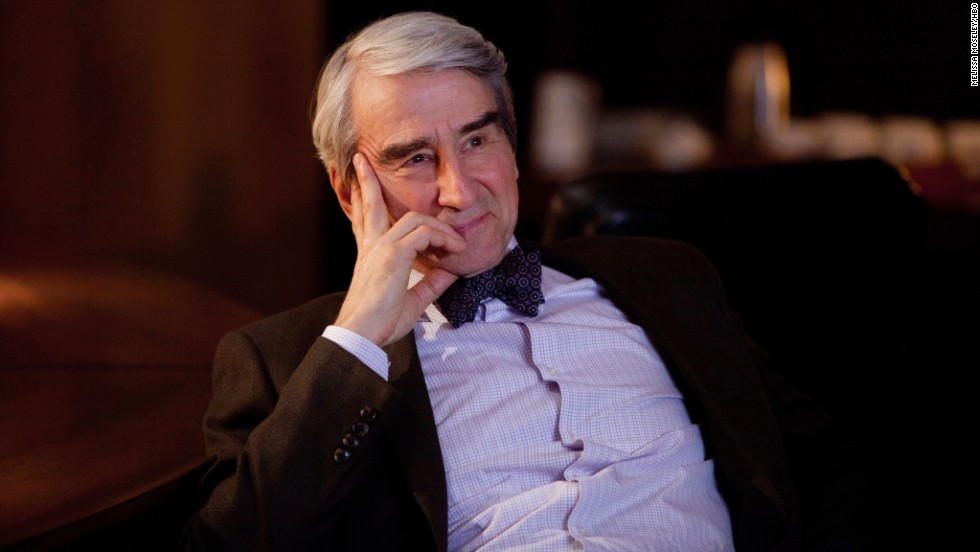 "Sam Waterston plays bow-tie aficionado Charlie Skinner in ""The Newsroom."""