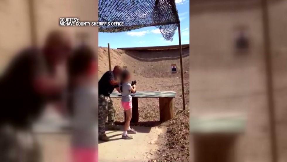 Girl, 9, kills gun instructor with Uzi