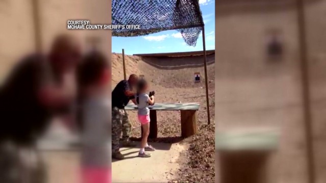 Girl, 9, kills gun instructor with Uzi