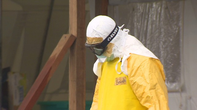 American leads Ebola treatment center