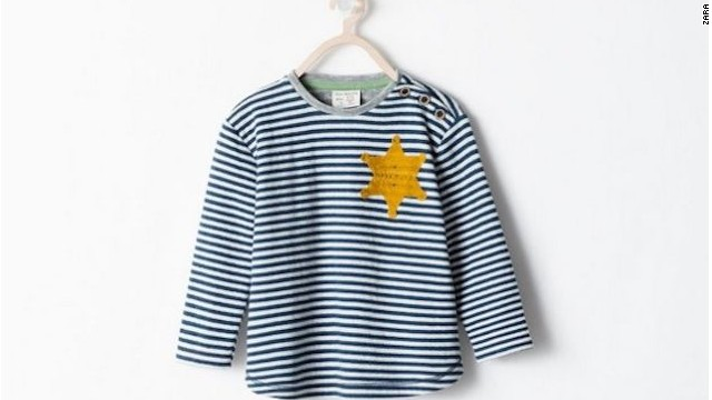abe351ee Zara pulls shirt resembling 'Star of David' - CNN