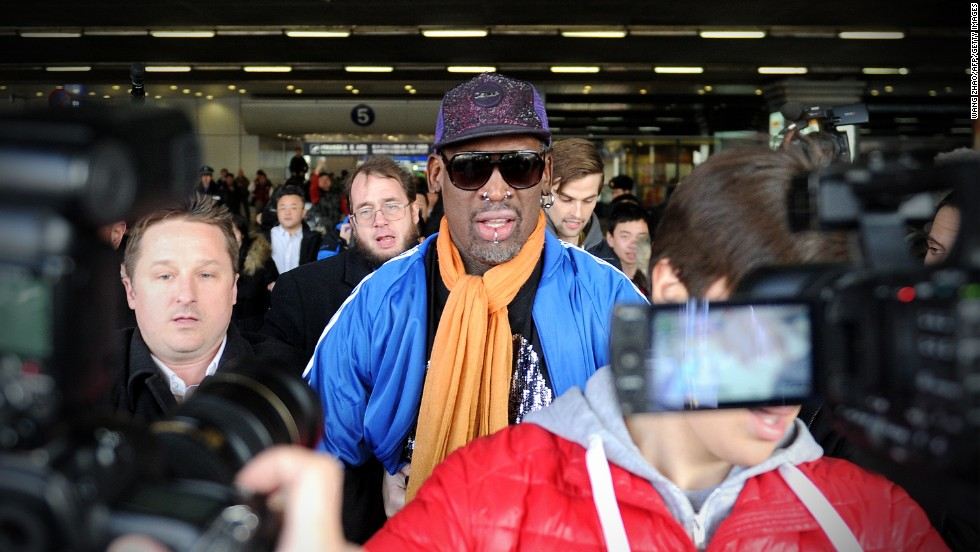 "Earlier this year, former U.S. basketball player Dennis Rodman caused a stir by organizing a basketball event in North Korea, during which he sang<a href=""http://www.cnn.com/2014/01/08/world/asia/north-korea-dennis-rodman/index.html""> ""Happy Birthday"" </a>to the North Korean leader."