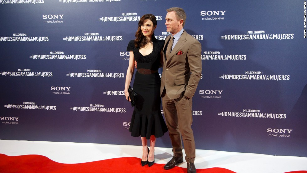"The courtship of ""Skyfall"" star Daniel Craig and actress Rachel Weisz is a little hazy. As far as the public knows, the former ""Dream House"" co-stars became romantically involved following Weisz's breakup with director Darren Aronofsky in November 2010. But before anyone could get a good sense of the newest Bond's new dating life, <a href=""http://www.cnn.com/2011/SHOWBIZ/Movies/06/26/craig.weisz.wed/index.html?iref=allsearch"" target=""_blank"">the couple quietly married in upstate New York in June 2011.</a>"