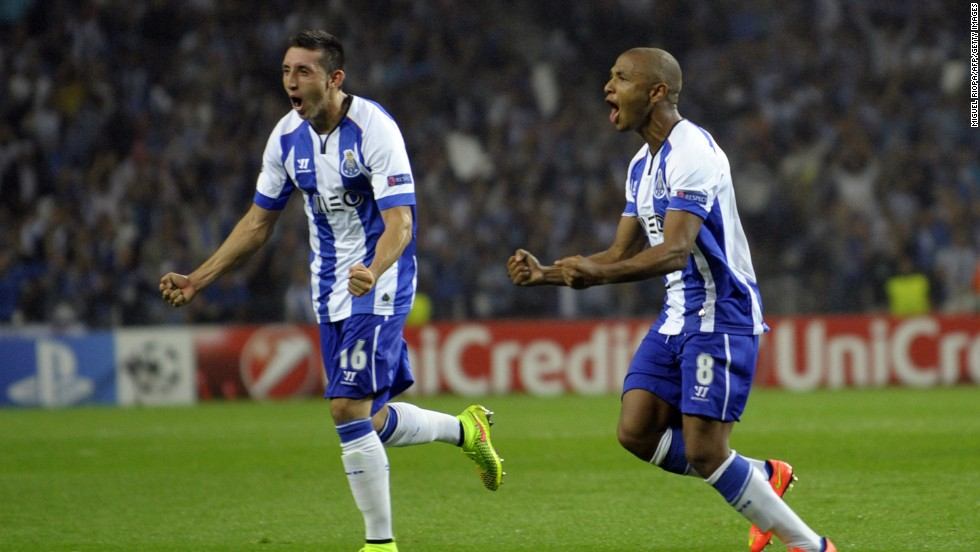 Porto', the 2004 champion will hope Algeria star Yacine Brahimi can inspire his side after a playoff victory over French side Lille.