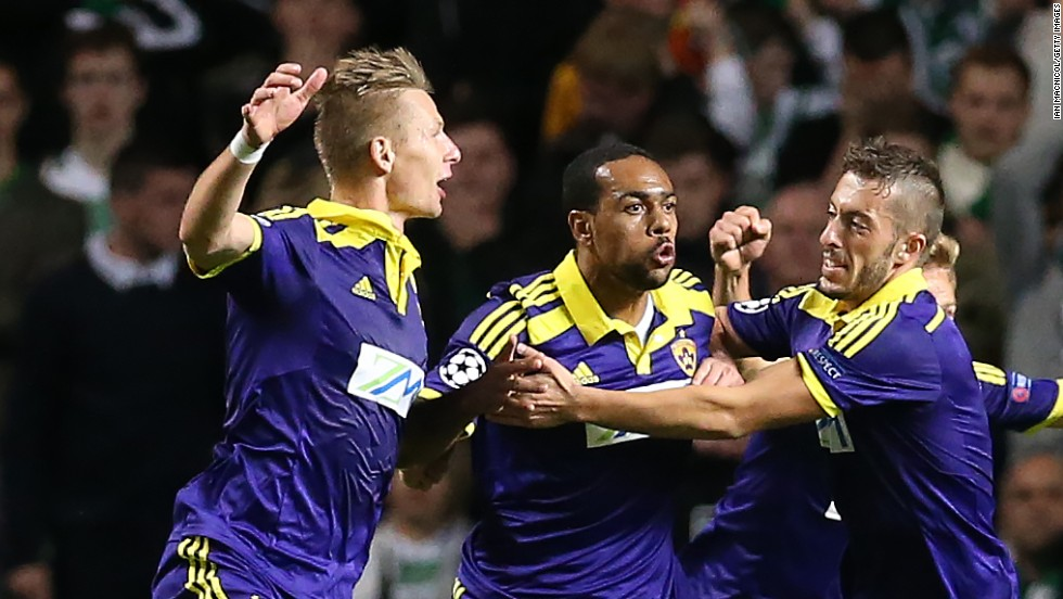 Slovenian side Maribor booked its place in the Champions League group stage following a dramatic victory over 1967 winner Celtic. Tavares scored the crucial away goal as Maribor triumphed 2-1 on aggregate.
