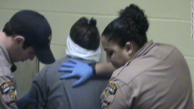 Raw video: Texas DA's 2013 DWI booking