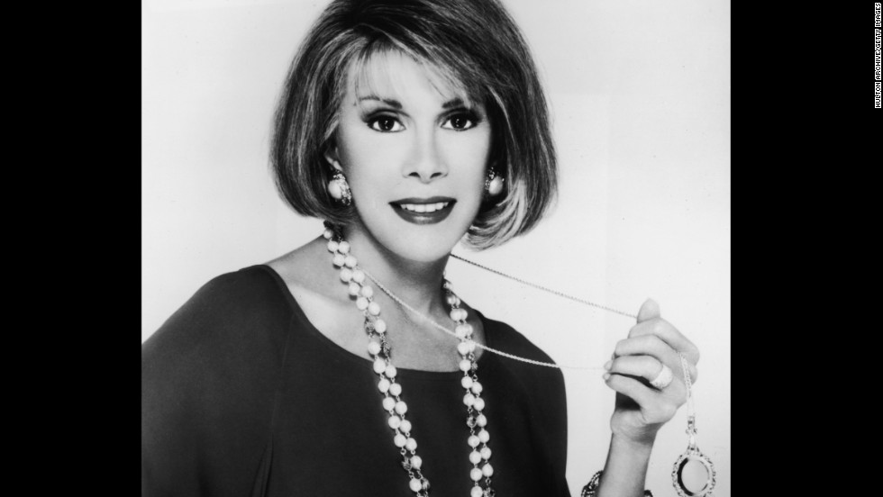 Comedian Joan Rivers died September 4, 2014, a week after suffering cardiac arrest during a medical procedure, her daughter said. She was 81. Click through the gallery to look back at her career.