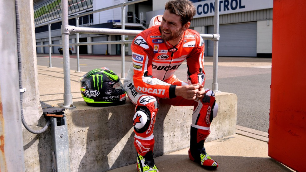 Britain's Cal Crutchlow has endured a nightmare season since leaving the satellite Yamaha Tech3 team for Ducati, winning just 36 points in 11 races.