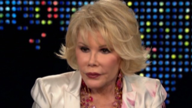 2010: Joan Rivers on being a comedian