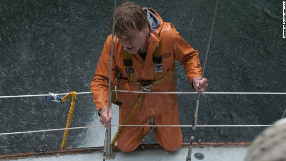 "<strong>""All is Lost"" (2013): </strong>Robert Redford portrays a man stranded alone at sea in this action film that has no dialogue. (<strong>Netflix and Amazon</strong>)"