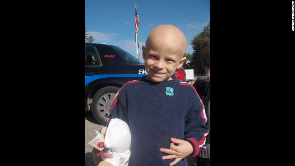 Cole was diagnosed with cancer in June 2010 at the age of 4.