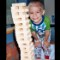 Cole, playing with blocks at Floating Hospital for Children at Tufts Medical Center, Boston