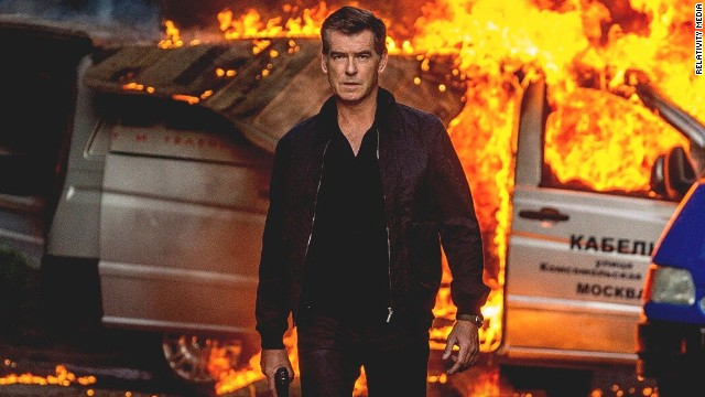 "Pierce Brosnan stars as an ex-CIA agent in ""The November Man."""
