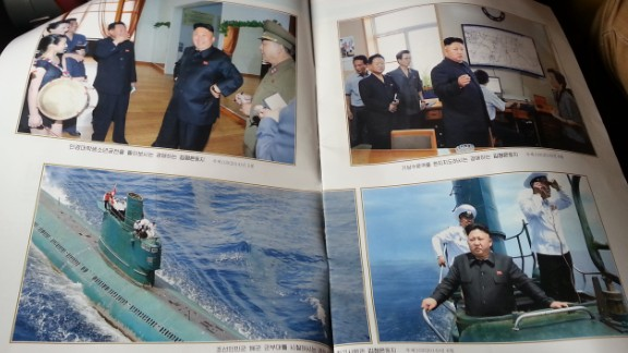 North Korean leader Kim Jong Un is everywhere in state media.