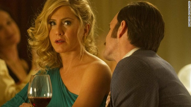 "Jennifer Aniston stars as a rich Detroit housewife in ""Life of Crime."""