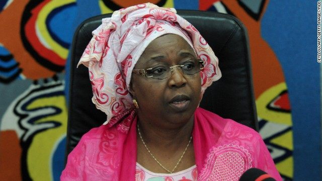 Senegalese Health Minister Awa Marie Coll-Seck confirms an Ebola case in August.  The patient has since recovered.