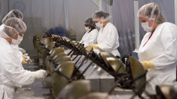 Nearly 50 years ago, scientists discovered the horseshoe crab's clotting-response to bacterial toxins. Now, its blood is harvested in huge quantities, to be used in a test to ensure medical products are not contaminated.