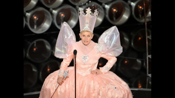 """Right from the beginning, Ellen DeGeneres had a way of taking the realities of life and filtering them through a snappy sense of humor. DeGeneres was bubbly and warm, and her brand of accessible comedy was a perfect fit for network television. It was there, while starring on her '90s sitcom """"Ellen,"""" that DeGeneres made a pioneering move: She became the first lead on a sitcom to come out as gay."""