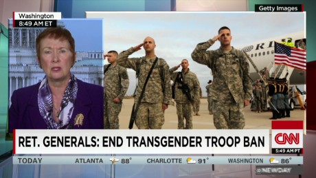 On transgender ban, Trump, listen to your generals