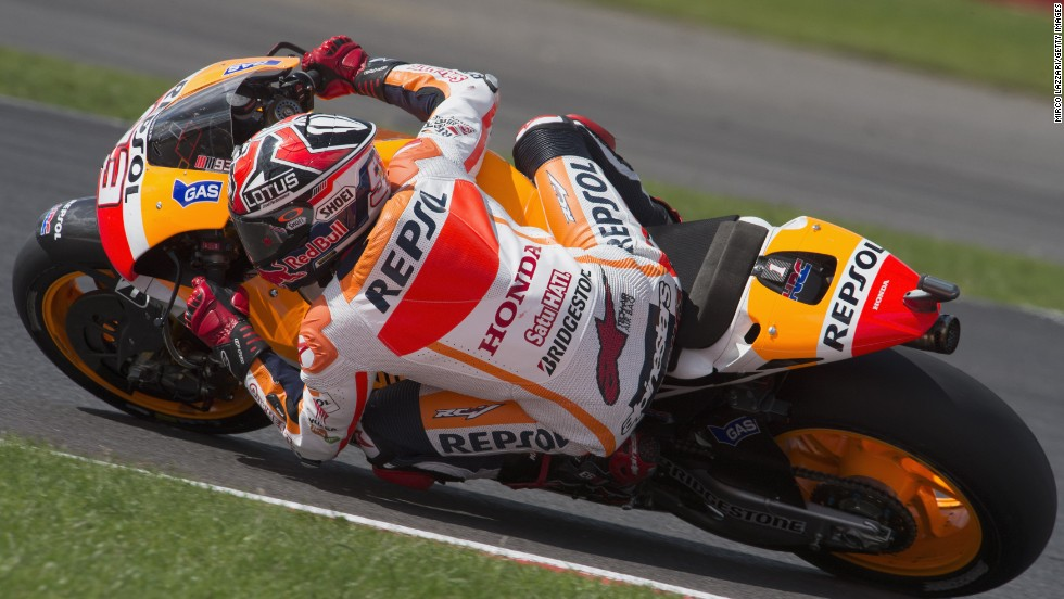 There's just no stopping Marc Marquez...