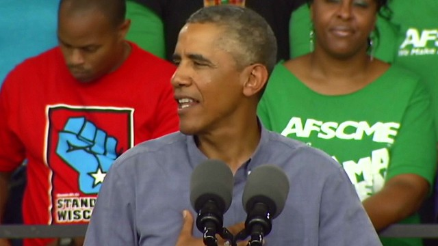 Obama: 'Don't boo, vote'