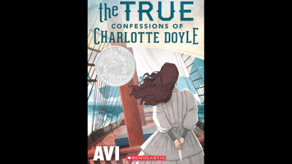 """""""The True Confessions of Charlotte Doyle"""" by Avi, recommended for ages 10+, is solidly in the girl-centric camp, centering around the experiences of a female protagonist during a voyage to America in 1832."""
