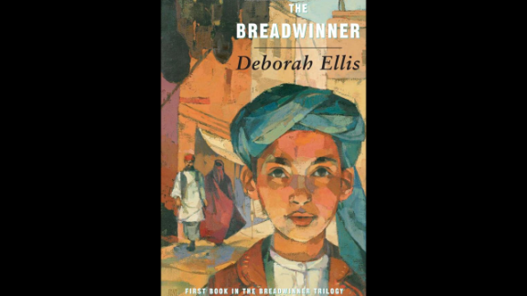 """""""The Breadwinner"""" by psychologist Deborah Ellis, recommended for ages 10+, is based on true stories of girls and women in Afghan refugee camps in Pakistan and Russia."""