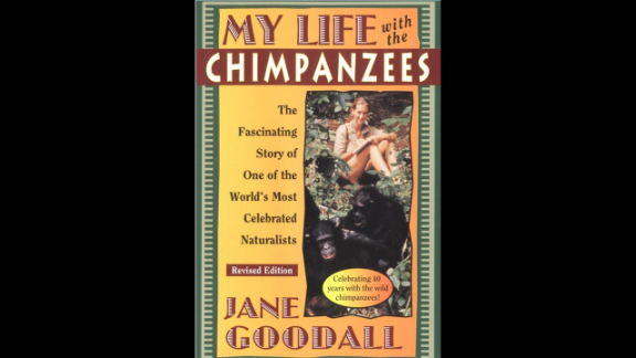 """Jane Goodall's children's autobiography, """"My Life with the Chimpanzees,"""" recommended for ages 8+, illustrates the challenges Goodall faced at a time when women were expected to stick to traditional gender roles."""