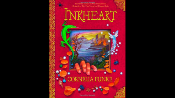 """""""Inkheart"""" by Cornelia Funke, recommended for ages 9+, is a YA fantasy novel and the first installment of the """"Inkheart"""" trilogy."""
