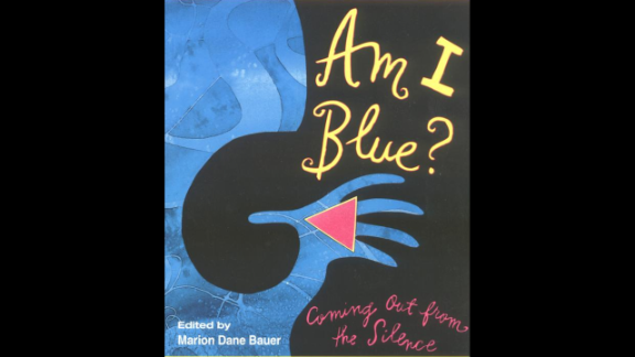 """""""Am I Blue? Coming Out from the Silence,"""" edited by Marion Dane Bauer and recommended for ages 13+, is a collection of stories by YA authors on growing up gay or lesbian, or  having gay or lesbian parents or friends."""