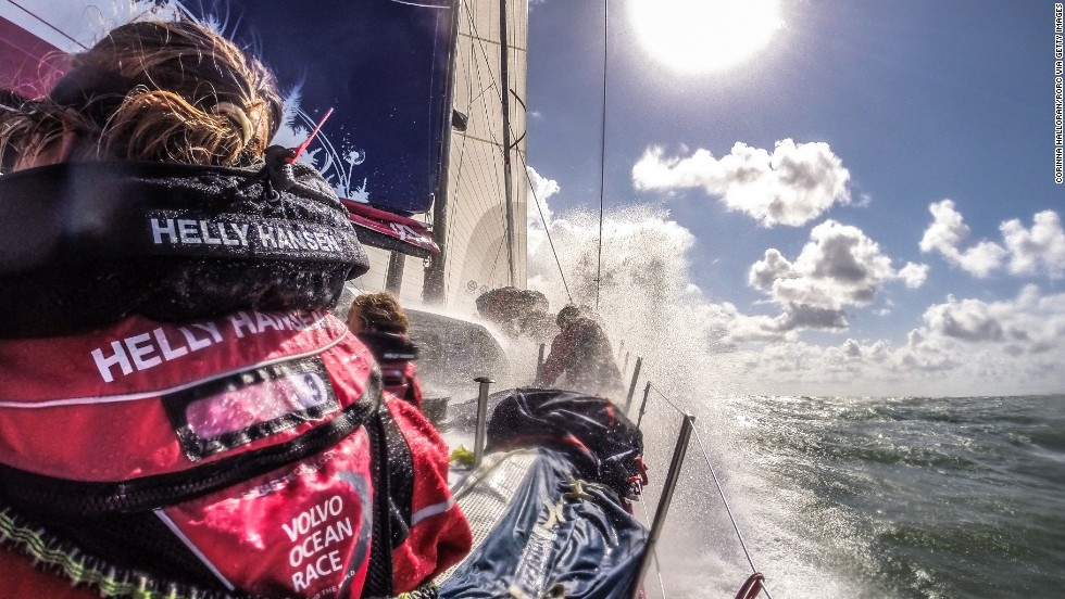 "If there was an ""Everest of Sailing,"" this would be it. <br /><br />At least, that's the nickname given to the <a href=""http://www.volvooceanrace.com/en/home.html"" target=""_blank"">Volvo Ocean Race</a>, an epic nine-month journey across the globe in which hardened sailors battle everything from tropical cyclones to Antarctic storms.<br /><br />With just under a month until the grueling competition kicks off, the teams came face-to-face for the <a href=""http://roundbritainandireland.rorc.org/"" target=""_blank"">Round Britain & Island Race</a> -- seen as an early indicator of the prestigious Volvo crown.<br /><br />In these remarkable images of the event, sailors pushed themselves to the limit over four days... and that's just a warm-up to the punishing race in October."