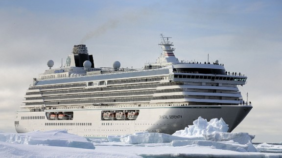 Cruise ship Crystal Serenity's planned 2016 voyage through the Northwest Passage is a sign of ever-increasing appetite for Arctic travel.