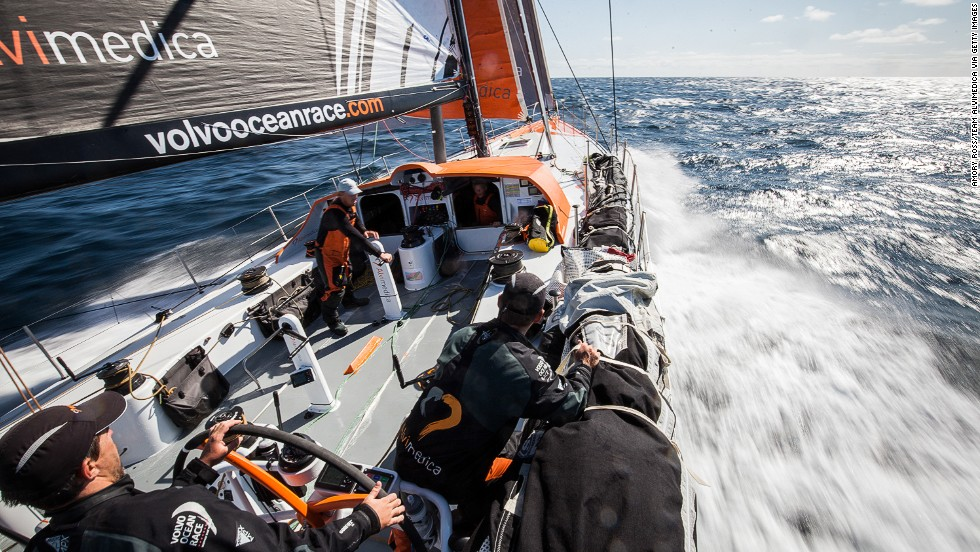 The competition starts in Alicante, Spain, stopping in 11 ports and covering over 38,000 miles across the globe, before ending in Gothenberg, Sweden, almost nine months later.<br /><br />Beginning in the picturesque Mediterranean, the Volvo Ocean Race follows the north to south trade wind route; facing everything from the frustratingly calm Doldrums at the equator, to the brutal waves of the Southern Ocean.