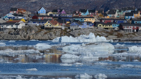 Most Arctic communities are home to little more than 1,000 people -- similar in size to the Crystal Serenity cruise capacity.